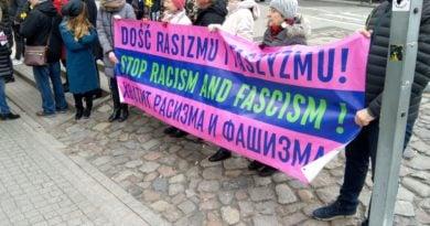 W mieście odbyła się demonstracja przeciwko rasizmowi i faszyzmowi