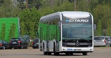 eCitaro - autobus elektryczny
