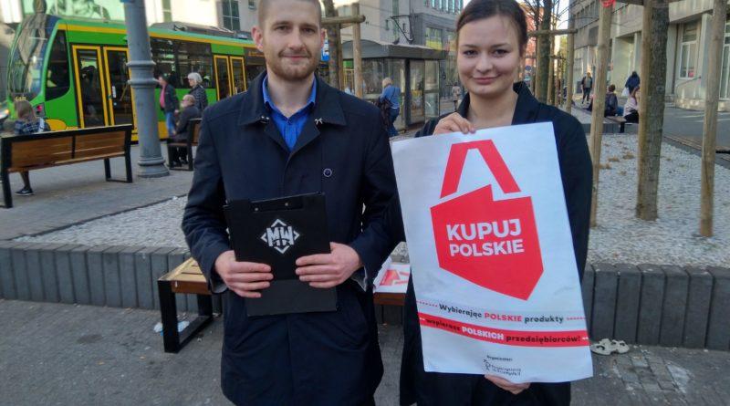 Młodzież Wszechpolska Kupuj Polskie Marek Sajdok