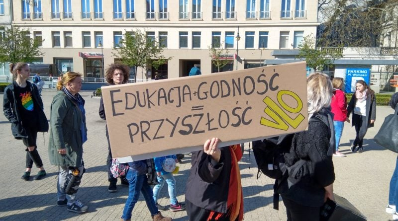marsz uczniów