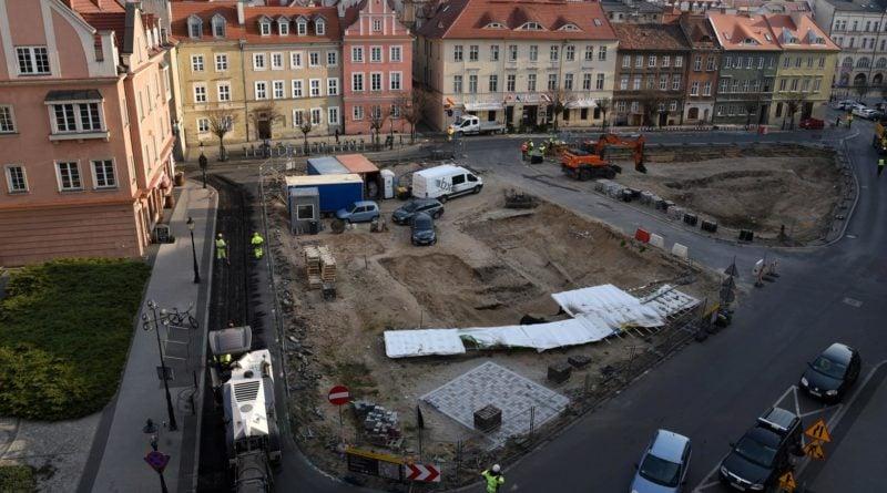 plac kolegiacki fot. ump 8 800x445 - Poznań: Ruszyła przebudowa placu Kolegiackiego
