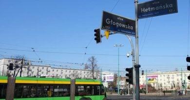 Poznań: Wstrzymanie ruchu tramwajowego na Głogowskiej