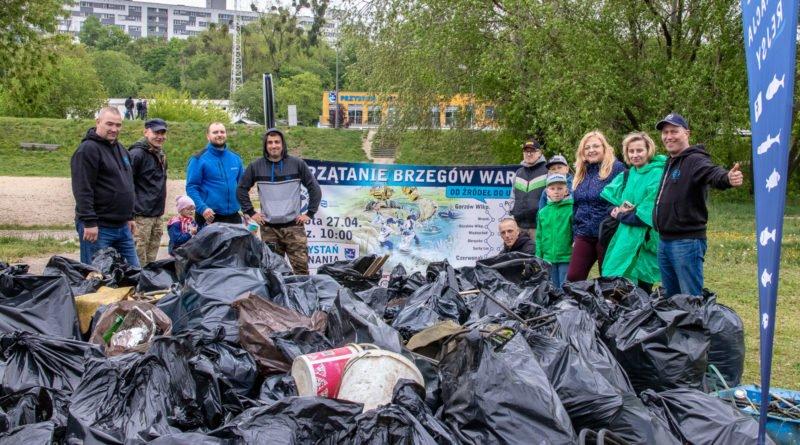 Sprzątanie rzeki Warty Poznań 27.04 fot. Sławek Wąchała