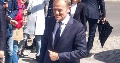 Donald Tusk fot. Karolina Adamska