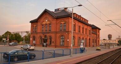 Jarocin Dworzec
