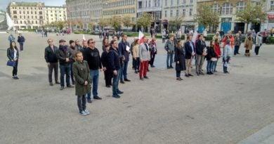 manifestacja centrum