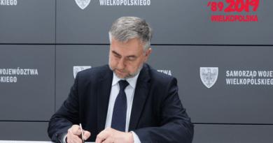 marek wozniak 2 fot. um 390x205 - Poznań: Marszałek Marek Woźniak oferuje 25 mln na walkę z koronawirusem