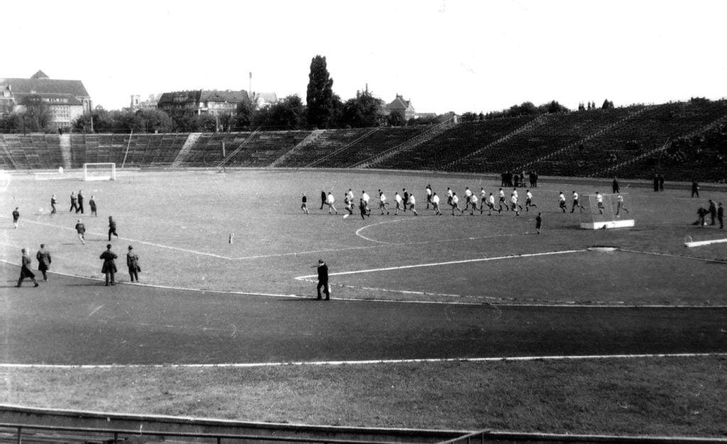 stadion szyca 4 fot. piotr napierala 1024x626 - Stadion im. Edmunda Szyca - zobacz jak wygląda dzisiaj kultowy obiekt