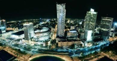 Warszawa noc