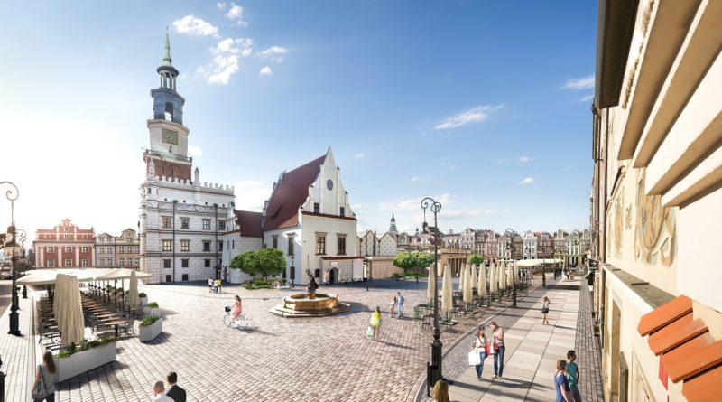 wizualizacje stary rynek fot. ump 6 800x445 - Poznań: Nowa nawierzchnia na Starym Rynku do 2023 roku