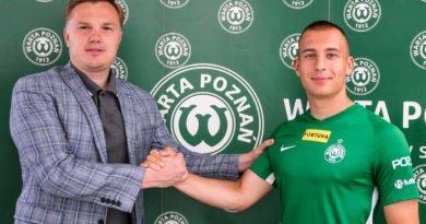 Jakub Kuzdra fot. Piotr Leśniowski Warta Poznań