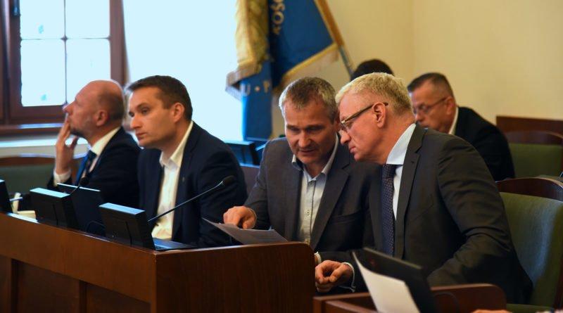 Jaśkowiak, Solarski, Wiśniewski, Guz fot. UMP