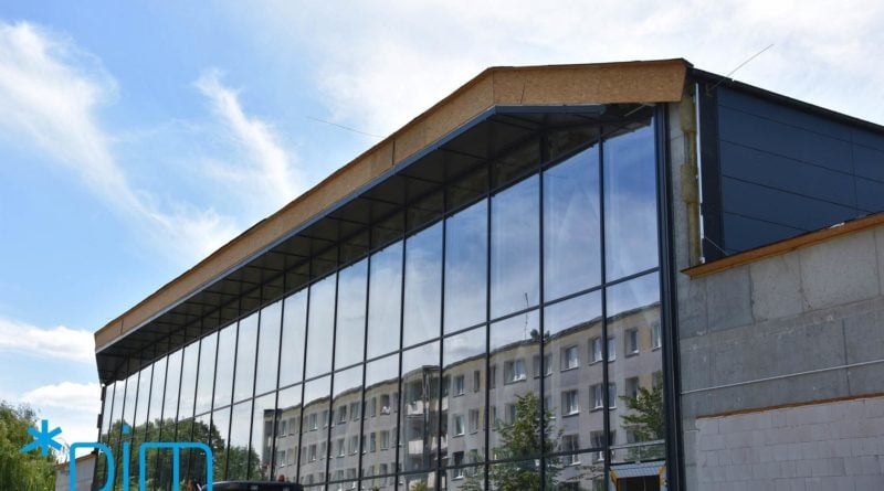 plywalnia na ratajch fot. pim 5 800x445 - Poznań: Kończy się budowa pływalni na Ratajach (zdjęcia)