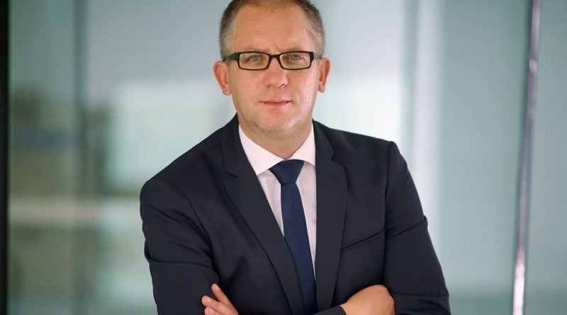 Prezydent Miasta Leszna - Łukasz Borowiak fot. Urząd Miasta Leszna