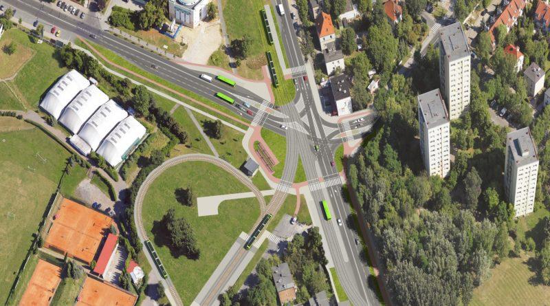 tramwaj na Naramowice wizualizacja fot. UMP