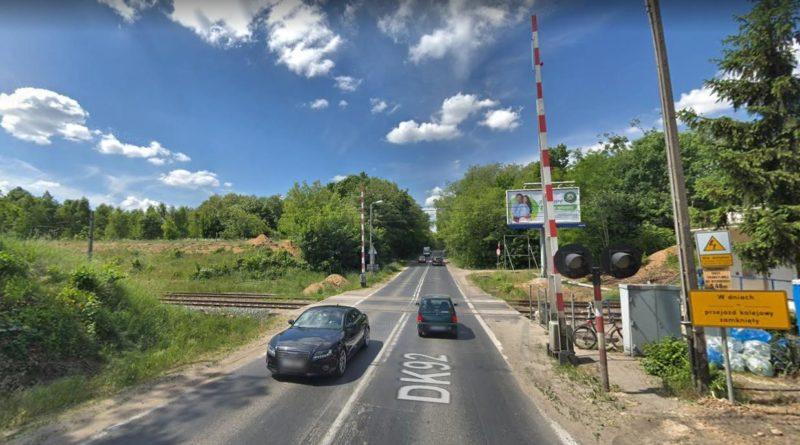 przejazd kolejowy Lutycka