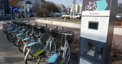 Poznań: Dwie strefy rowerów miejskich na Szczepankowie i Spławiu