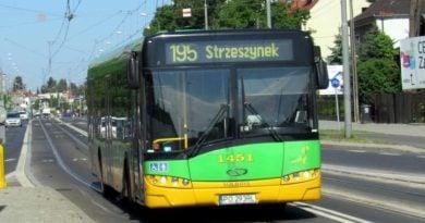 autobus linii 195 fot. ztm 390x205 - Poznań: Zmiany tras linii nr 186, 833, 834 i 195