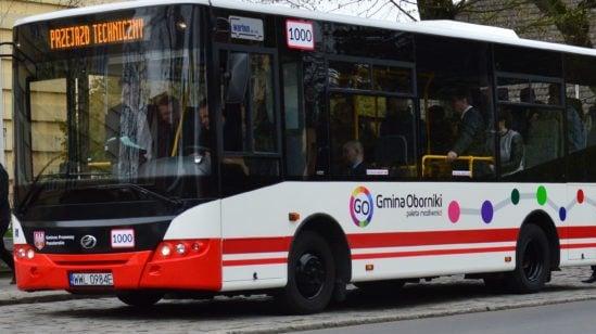 Autobusy Oborniki 2 fot. Gmina Oborniki