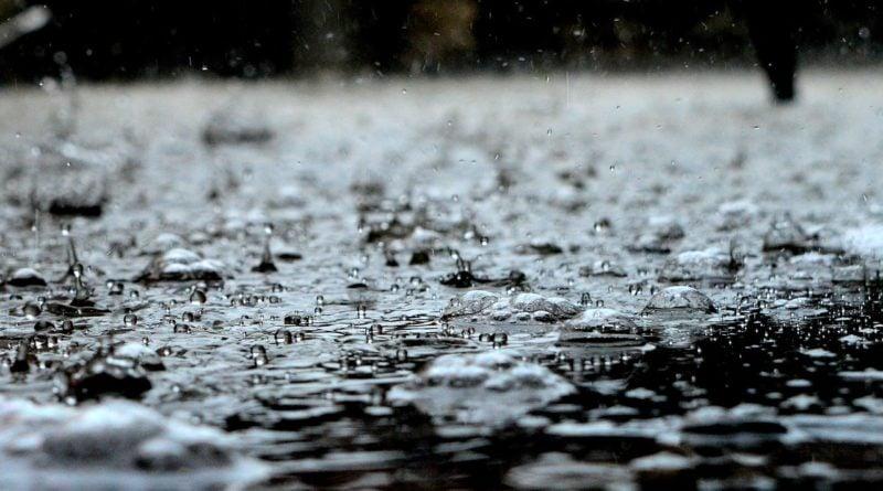 deszcz 2 1 800x445 - Gostyń: Wielka ulewa przeszła nad miastem!