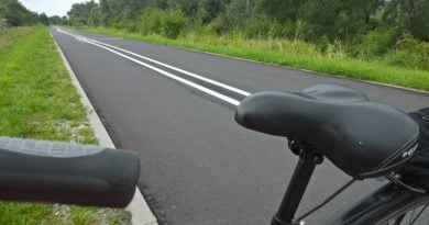 droga rowerowa 1 390x205 - Poznań: Rowerzyści mogą jeździć! Ale... tylko komunikacyjnie
