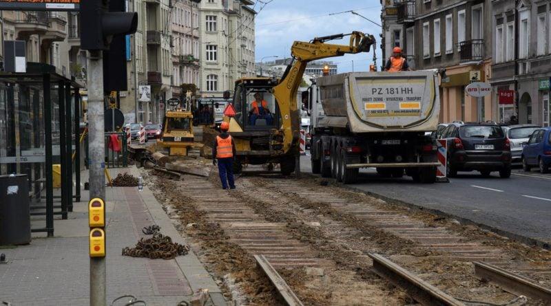 glogowska remont 800x445 - Poznań: Koniec remontu na Głogowskiej