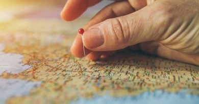 mapa wakacje paszport