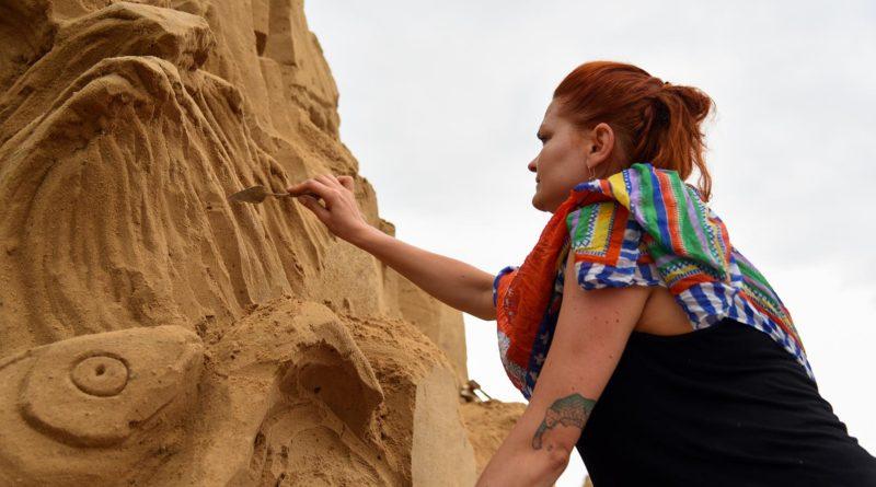poznan sand festival fot. ump 1 800x445 - Poznań Sand Festival. Pierwsze rzeźby są już gotowe (zdjęcia)