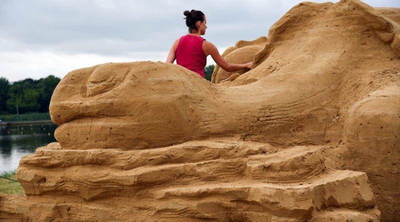 poznan sand festival fot. ump 10 800x445 - Poznań Sand Festival. Pierwsze rzeźby są już gotowe (zdjęcia)