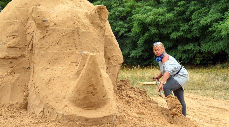 poznan sand festival fot. ump 4 800x445 - Poznań Sand Festival. Pierwsze rzeźby są już gotowe (zdjęcia)