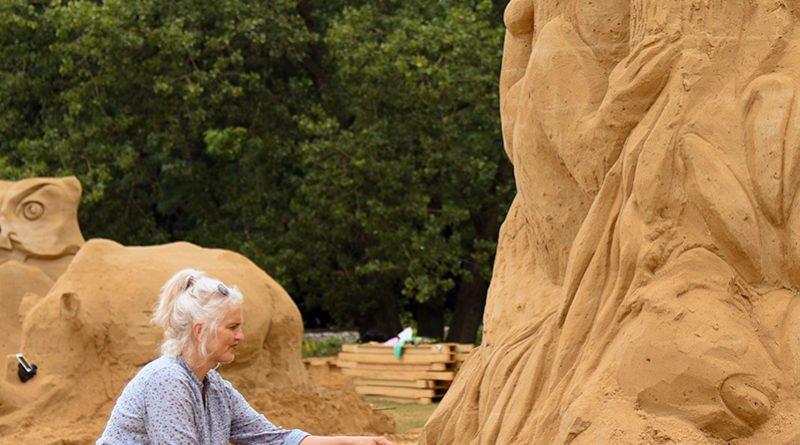 poznan sand festival fot. ump 7 800x445 - Poznań Sand Festival. Pierwsze rzeźby są już gotowe (zdjęcia)