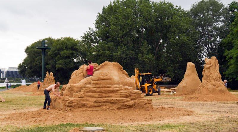 poznan sand festival fot. ump 9 800x445 - Poznań Sand Festival. Pierwsze rzeźby są już gotowe (zdjęcia)
