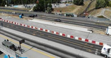 remont wiaduktu nad pst szymanowskiego 390x205 - Poznań: Kolejny etap remontu wiaduktu nad PST Szymanowskiego