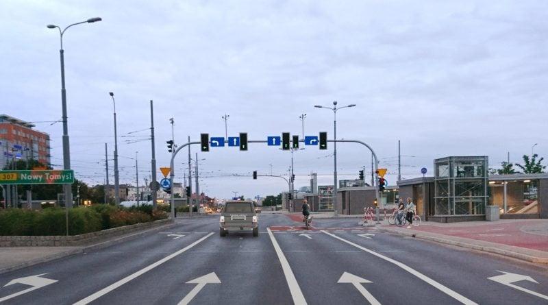 rondo kaponiera fot. zdm 800x445 - Poznań: Awaria torowiska - w centrum nie kursują tramwaje!