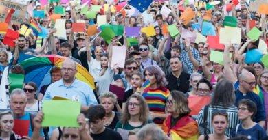 Stop przemocy LGBT fot. Wojtek Lesiewicz