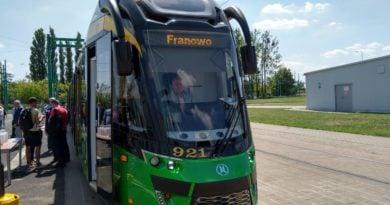 tramwaj moderus gamma 4 390x205 - Poznań: Wielki festyn na Franowie, czyli zaczyna się Europejski Tydzień Zrównoważonego Transportu