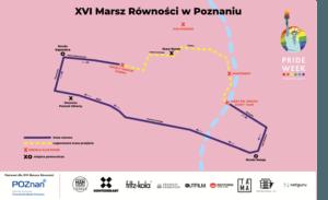 trasa marsz rownosci poznan 300x183 - Marsz Równości przejdzie przez Poznań. Szykuje się paraliż miasta?