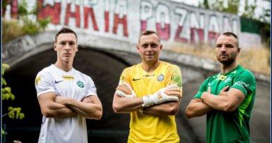 Warta koszulki Fot. Adam Ciereszko Warta Poznań