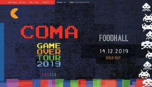 "49512 image 70403317 2818345881522891 2985374322262016000 o 300x172 - Sold Out COMA ""Game Over"" + Bruklin - Poznań 14.12.2019"