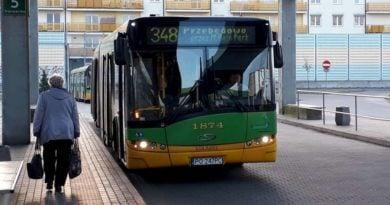 Autobus 348 fot. ZTM