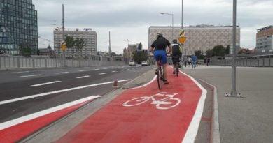 kaponiera rower fot. ump 390x205 - Warszawa buduje naziemne przejścia dla pieszych. A Poznań?