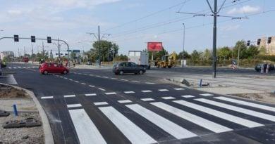 kurlandzka inflancka zegrze fot. ump 390x205 - Poznań: Koniec remontu skrzyżowania Kurlandzka - Inflancka -Żegrze