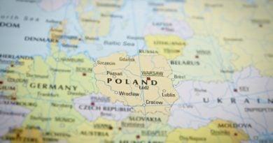 """mapa polski i europy 390x205 - Rząd przygotował mapę inwestycji. """"W Wielkopolsce zrealizowano inwestycje o łącznej wartości 12 mld zł"""""""