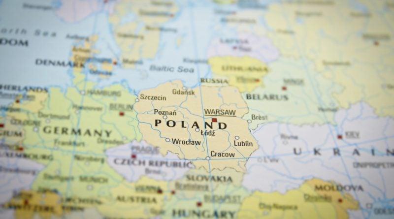 """mapa polski i europy 800x445 - Rząd przygotował mapę inwestycji. """"W Wielkopolsce zrealizowano inwestycje o łącznej wartości 12 mld zł"""""""