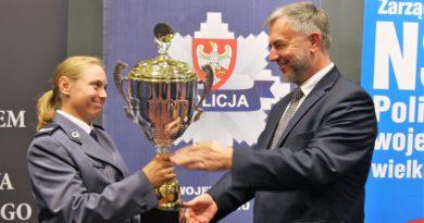 """marek wozniak fot. mat. pras. 390x205 - Marek Woźniak: """"Samorząd Województwa docenia ogromny wkład policji w zapewnianiu bezpieczeństwa"""""""