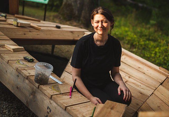 mood for wood 6 640x445 - Poznań: Mood for Wood, czyli niezwykła ławka w Ogrodzie Dendrologicznym