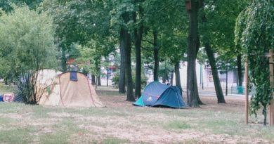 namiot fot. jacek 390x205 - Poznań: Gdzie wolno ustawić namiot?