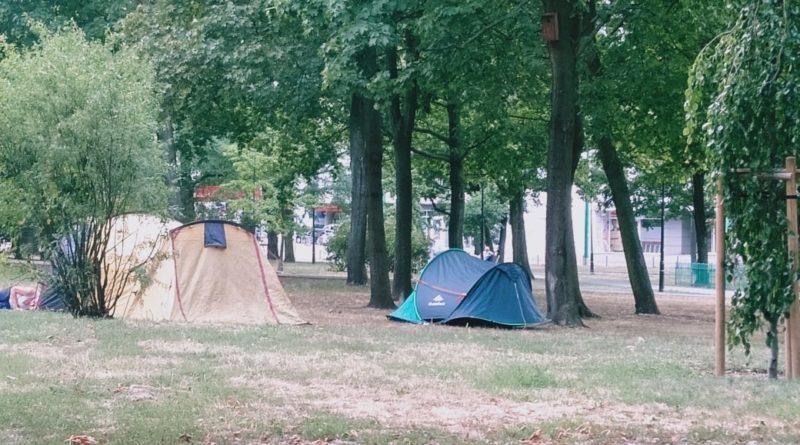 namiot fot. jacek 800x445 - Poznań: Gdzie wolno ustawić namiot?
