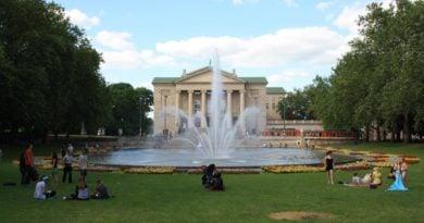 Opera park Adama Mickiewicza