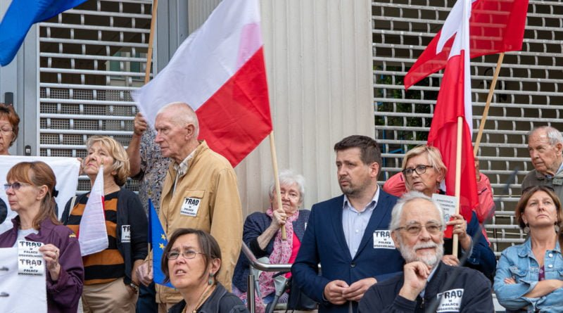 protest kod ziobro do dymisji fot. slawek wachala 24 800x445 - Poznań: Demonstracja KOD. Chcieli dymisji Ziobry!